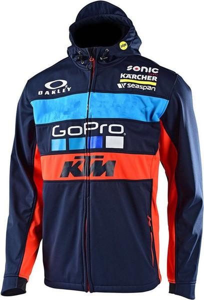 Vente chaude 2017 MotoGP coupe-vent Moto combinaison de course veste coupe-vent Cross country pull manteau coupe-vent J hoody livraison gratuite
