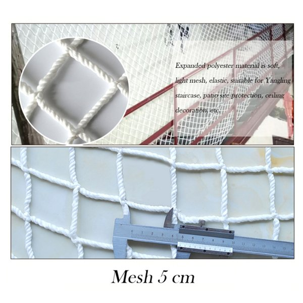 Pet Cat Dog Nylon Protective Mesh Net for Home Window Balcony Safety Protection Fence Gard for Baby Kid Falling Net Fence