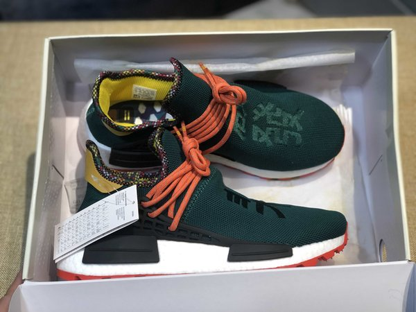 36 2019 45 humanrace hu inspiration pack running shoes real basf bottom pharrell williams trainer sneakers with box