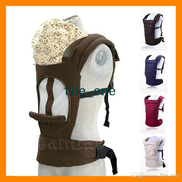 Breathable Mesh Design Summer baby sling carrier Toddler wrap Ride Multi-functional Kdis outwards cotton inwards backpack EMS FREE