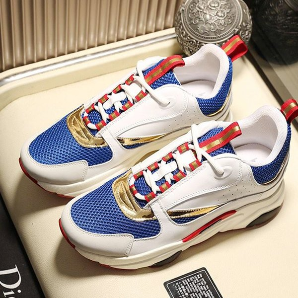 High Quality Men Casual Shoes Trendy Luxury Designer Sneakers Shoes Leisure Athletic Fitness Chaussures de Sports Pour Hommes Men Shoes Sale