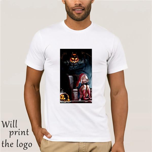 Camiseta - Camisa de Halloween camiseta de regalo de cumpleaños, impresión digital para Halloween Hombres Mujeres y Niños de la camiseta-
