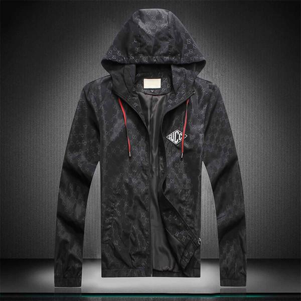 Design de Moda Mens Hoodie Jacket Vestuário Militar Mapa Reflective Casacos com capuz preto dos homens de luxo Jackets Hoodies noctilucentes Tamanho M-XXX