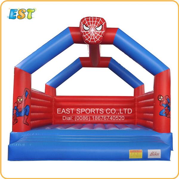 Castello rimbalzante gonfiabile della Camera di salto del castello dello Spiderman dei bambini mini rimbalzante con per uso domestico