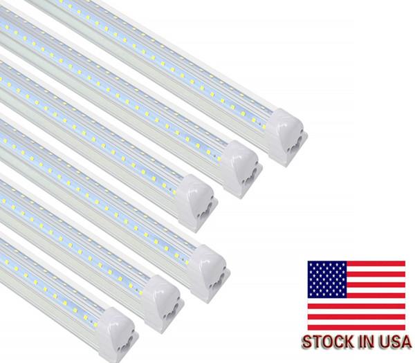4ft Led Shop Light >> Cnsunway 4ft Led Shop Lights V Shape T8 Integrated Tube Light Fixture 5000k Daylight 3360lm 28w Led Tube Light Replacement Linkable Us Stock T8 Tube