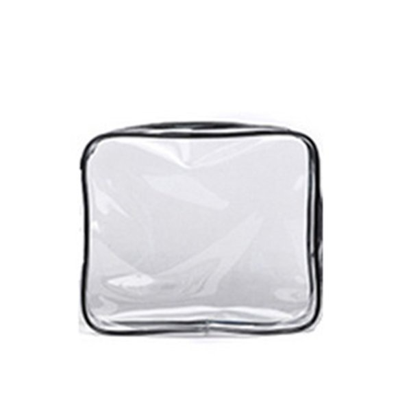 PVC Transparent Cosmetic Bag Women Travel Make up Toiletry Bags Makeup Organizer Case