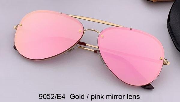 9052 / E4 الذهب / عدسة مرآة الوردي