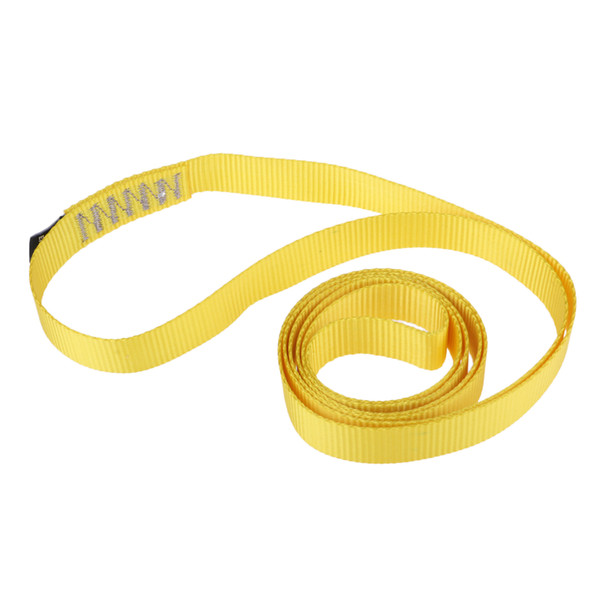 best selling Rock Climbing Sling Loop Fall Protection Descending Nylon Webbing Strap 35KN for Outdoor Sports Accessories