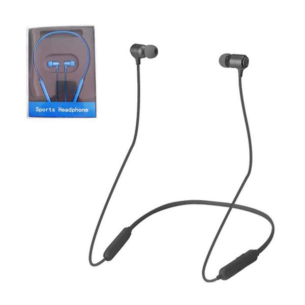Drahtlose Bluetooth-Kopfhörer S20-01 Magnetic laufende Sport-Kopfhörer-Kopfhörer BT 5.0 mit Mic MP3 Earbuds für iPhone Samsung Smartphone