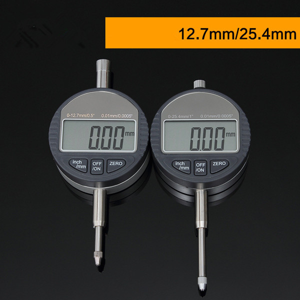 "best selling 0.001mm Electronic Micrometer 0.00005"" Digital Micrometer Metric Inch Range 0-12.7mm 0.5"" Dial Indicator Gauge With Retail Box"