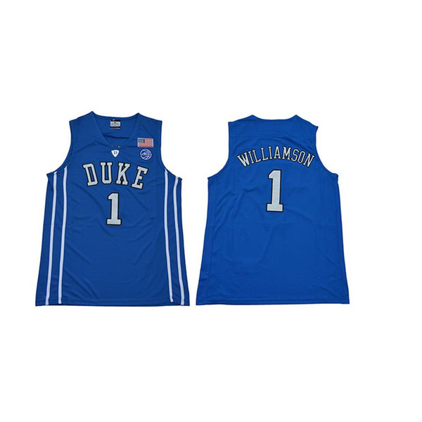 Mens Zion Williamson Jersey Duke Blue Devils College Basketball Jerseys High Quality Stitched Name&Number Size S-2XL