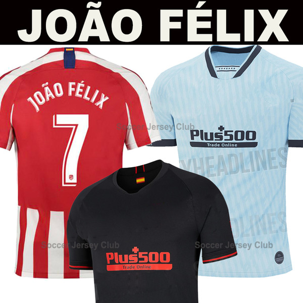19 20 maglia da calcio atletico madrid JOAO FELIX maglia da calcio 2019 2020 LLORENTE maglia da calcio LEMAR soccer jersey