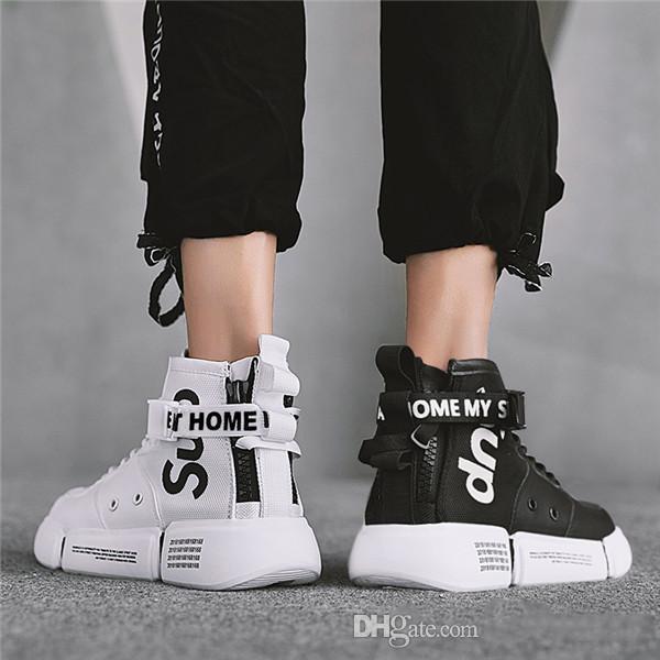 2019 Novo estilo de alta qualidade mens designers sapatos Lace Up Sapatos Masculinos Leve Sneakers Confortáveis Respirável