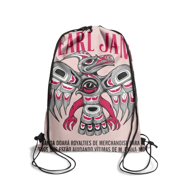 Sports backpack Pearl Jam cool popular Classicpackage durable yoga backpack school sack pouch Travel Fabric Backpack