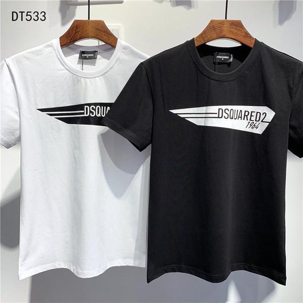 2020Designer Sommer 19DSquared2 NewDSQ2 Ankunft geben hochwertiger Tees Frauen Männer Kleidung D2 drucken T-Shirts M-3XL DT533