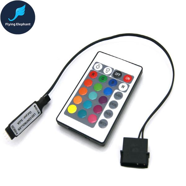 Контроллер RGB RF для случая светодиодного освещения 3Pin 5V или 4Pin 12V RGB AURA SYNC Molex 4-контактный источник питания