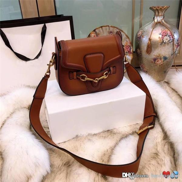 hot sale designer crossbody messenger bags luxury famous handbags good quality leather bags classical style saddle bag dust bag box