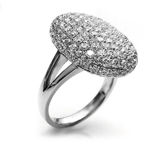 Brand Jewelry New Arrival Hot sale Bella Ring Romantic Crystal Engagement Wedding Ring For Women