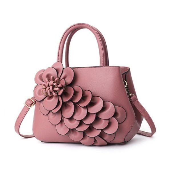 Europe And America Brand B1075 Women's Handbag Fashion Women Messenger Bag Rivet Single Shoulder Bag High Quality Female Bag264