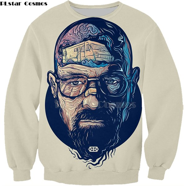 Men's clothing Fashion Breaking Bad sweatshirt LOS POLLOS Hermanos hoodies Chicken Brothers Short Sleeve Tee Hot Sale Tops-1