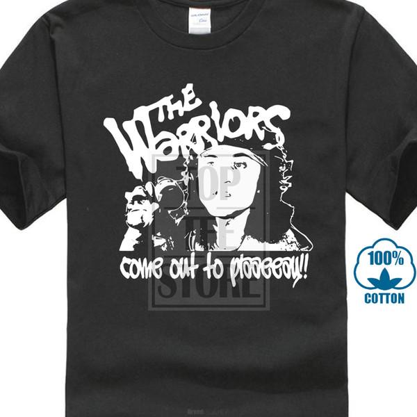 2017 Novos Os Guerreiros 'sair para Jogar' T Shirt-Cult Gang Filme 70's Vários 3d Impressão dos homens de Alta Qualidade de Manga Curta Tee