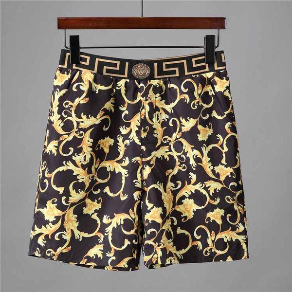 NEW Summer Fashion Shorts New designer Board short Quick Drying SwimWear Printing Board Beach Pants Men Mens Swim Shorts