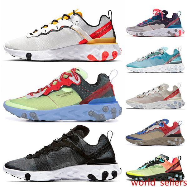 2020 Newest React Element 55 87 Men Running Shoes UNDERCOVER