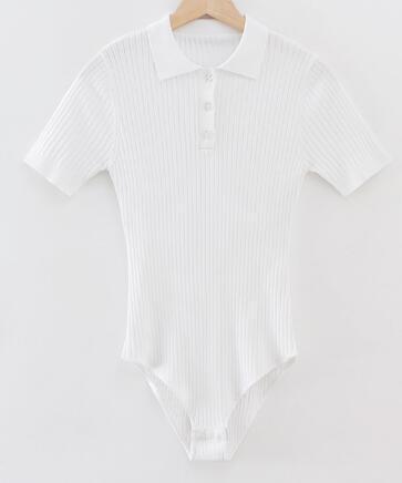 weißen Bodysuit