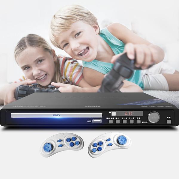 KYYSLB 220V 11W-19W DV-618 Ev DVD Oynatıcı, CD VCD Çalar EVD HD CD Küçük Oyun Makinesi Çocuk Mini Taşınabilir 5,1 Elyaf