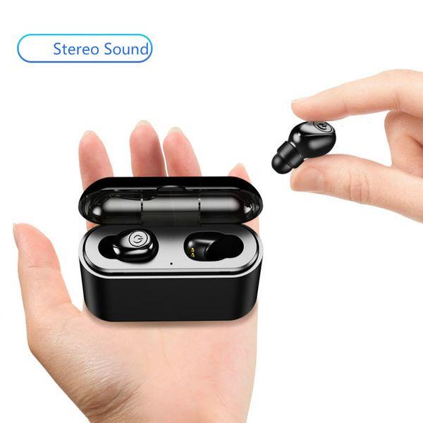 Wireless Bluetooth 5.0 in-Ear Earphone Stereo TWS Earbuds with 2200mAH, 1200mAh Battery Chargingg Box X8 BT Headphone Headsets