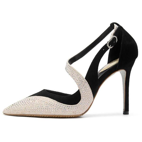 narrow band high heels fashion ladies shoes women high heel shoes girls high quality party women shoes women heels