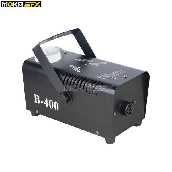 top popular Moka MK-F09 400 Watt Fog Smoke Machine Pro DJ for Stage Club Party Pub Special Effect 2021