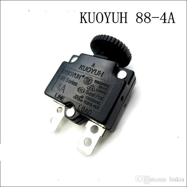 best selling Taiwan KUOYUH Overcurrent Protector Overload Switch 88 Series 4A