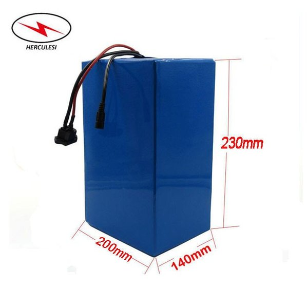 Customised Size Ebike Li Ion 85V / 84V 35Ah S anyo GA Lithium Ion Battery Pack for 8000W Electric Bike use in 23S 100A BMS