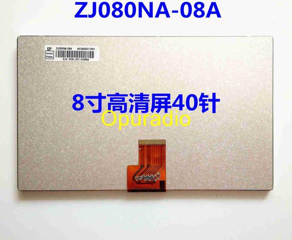 di trasporto del nuovo 8inch originale 16: 9 HD dell'automobile dello schermo LCD ZJ080NA-08A ZJ080NA 1024 * 600
