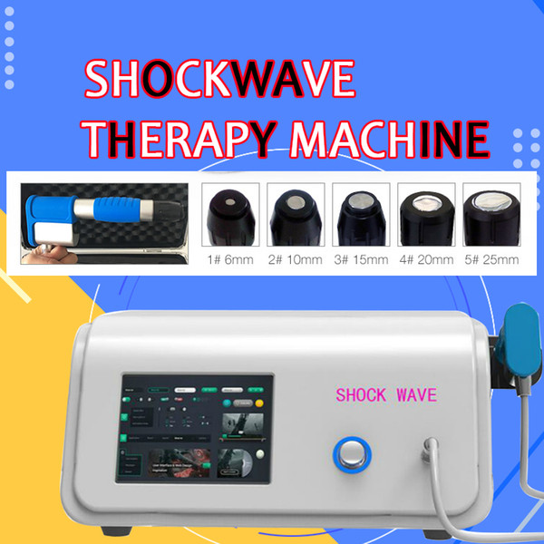 top popular Portable Orthopaedics Acoustic Radial Shock Wave for orhtopaedics physiotherapy machine   Ganiswave shock wave therapy Equipment CE 2019