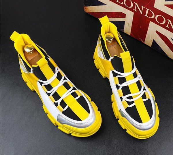 38-43 Moda Erkekler Sürüş Ayakkabı Nefes Casual Tekne Moccasin Loafers Erkekler Bahar Erkekler Ayakkabı Slip On 2019 Plus Size
