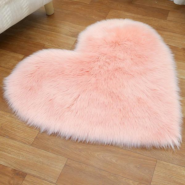 Plush Love Heart Carpets Fabric Blanket Soft Sofa Cushion Living Room  Bedroom Carpets Decoration HHA1119 Carpet Sales And Installation Replace  Carpet ...