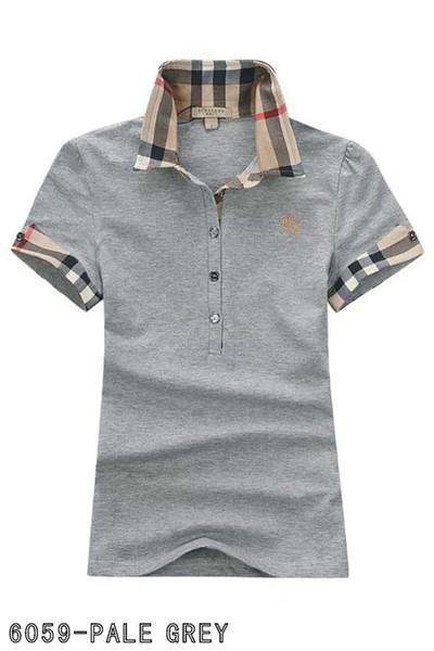 xuyongjian5566 / Polos senhoras moda casual polo camisa das senhoras camisa polo 8-color s-2XL Camisetas blusa Mujer camiseta H28