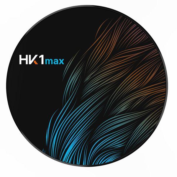 Андроид 9.0 Hk1 Макс мини смарт-телевизор коробка 2.4 Г/5 г Rk3328 четырехъядерный беспроводной БТ 4.0 установленная Верхняя коробка медиа плеер ПК Tx6 X96 максимальная(Великобритания Plug)