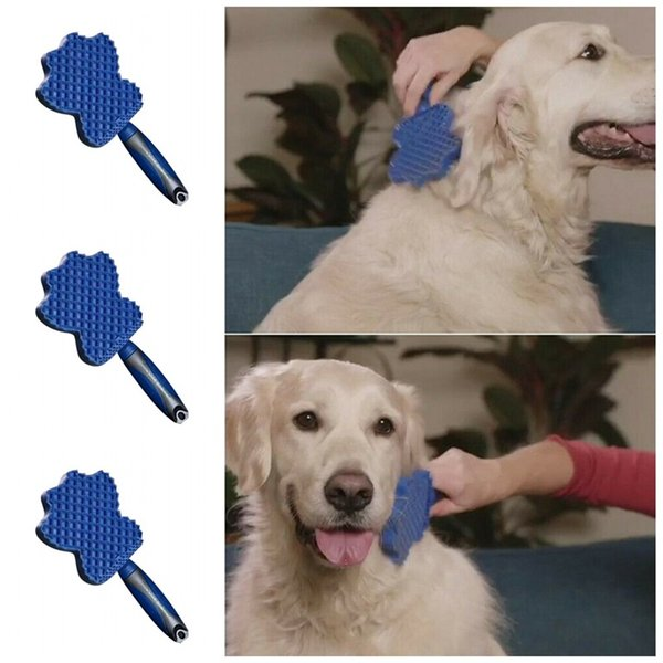 Damat Planör Evcil yapışkan fırça saf renk Kedi ve köpek Kıllar kaldırma cihazı mini tarak Köpekler Bakım 17zx E1