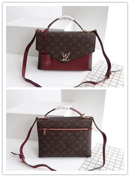 top popular Wholesale M54879 MY LOCKME Bag Women Tote Bags Handbags Genuine Leather LOCKME BB Shoulder Bag LOCKME EVER Tote Bag 2019