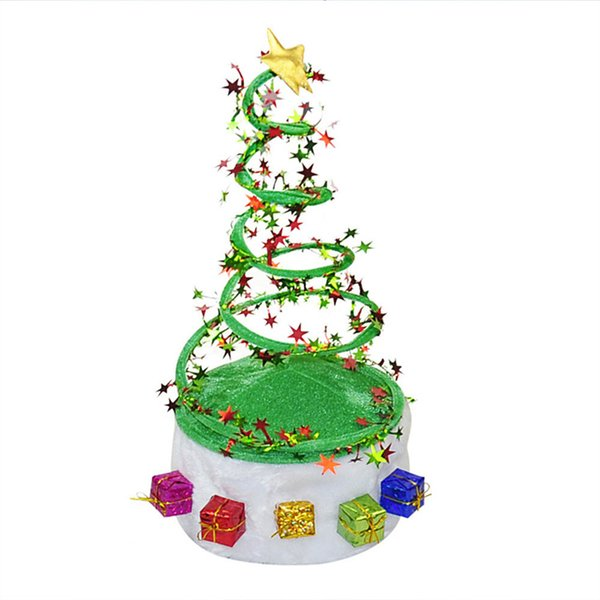 1Pc Plush Christmas Hat Spring Personalized Caps for Adults Christmas Ornament Hat New Year Product Party Decoration Supplies