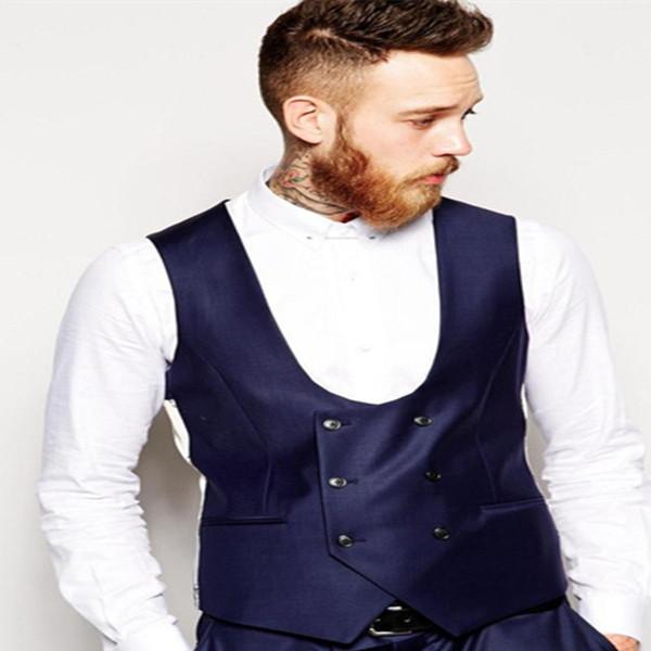 Gilet da uomo doppio petto giallo Gilet da uomo Slim Fit ultimo design di moda Best Men British Style Men Gilet CY015