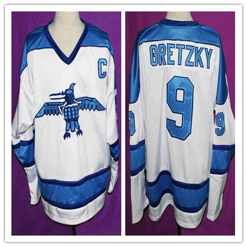 WAYNE GRETZKY ROSS SHEPPARD HIGH SCHOOL HOCKEY JERSEY Embroidery Stitched Customize any size and name