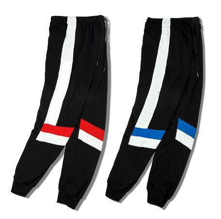 2018 горячая распродажа мужские брюки ch-mpion марка модные мужские брюки свободные случайные мужская одежда хлопок красный синий черный принт леггинсы для человека JDLC