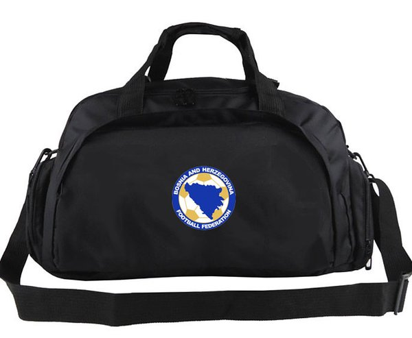 Designer-Bosnia and Herzegovina bag Soccer team tote Quality design backpack Football luggage Sport shoulder duffle Outdoor sling pack