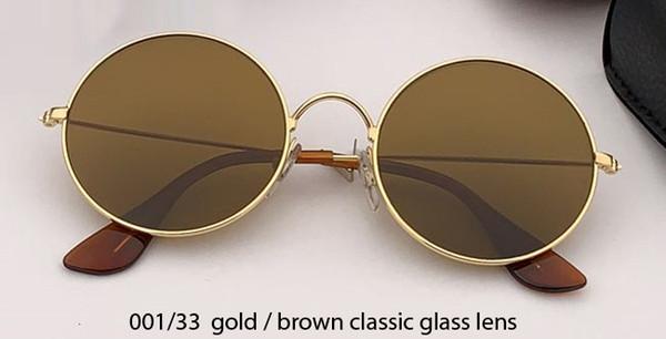 001/33 gold/brown lens