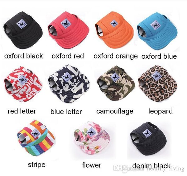 NEW TAILUP Hot Sale Sun Hat For Dogs Cute Pet Casual Cotton Baseball Cap Chihuahua Yorkshire Pet Products 11Colors 679
