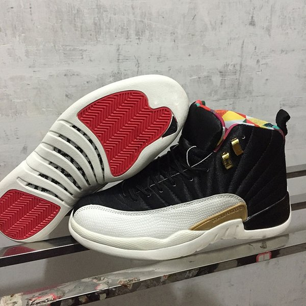 Hottest 12 CNY Chinese New Year Outdoor Shoes for Good quality Black Sail-Metallic Gold-True Red Mens Sports Sneakers Designer Trainers